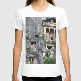 Rock Tombs Photograph Fethiye T-shirt