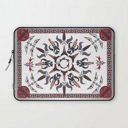 Mando'ade Darasuum (gradient background) Laptop Sleeve