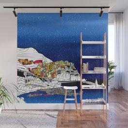 Manarol Italy Coast Landscape Wall Mural