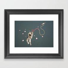 Hangstronaut Framed Art Print