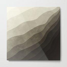 Stratum 2 Dust Metal Print