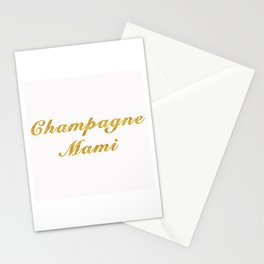 Champagne Mami Stationery Cards