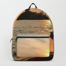 Paddle Into the Sunset Backpack