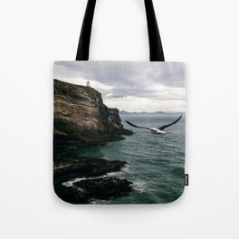 Coastal Albatross Tote Bag