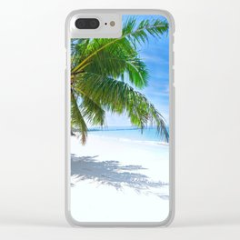 Palm Beach Clear iPhone Case