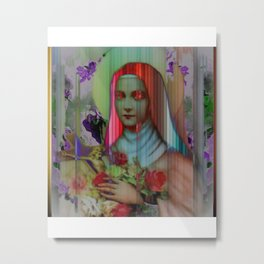 Mary Candy Metal Print