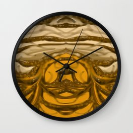 Graphic Branches Wall Clock