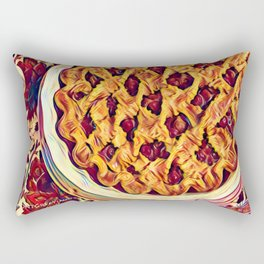 Coffee & Cherry Pie, Food For Thought Rectangular Pillow