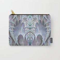 Floral Brocade Carry-All Pouch