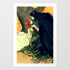 Hades and Persephone IV Art Print