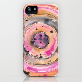 Abstract Ink & Watercolor - Chai Sun iPhone Case