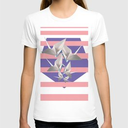 Papier Kraniche T-shirt