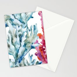 Sea Life Pattern 02 Stationery Cards