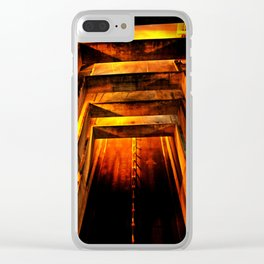 Going Down Clear iPhone Case