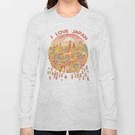 LOVE JAPAN Long Sleeve T-shirt