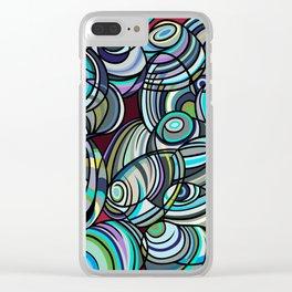 Mussel Beach Clear iPhone Case