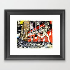 Our Legs Get Us There Faster Framed Art Print