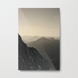 Mountain Side Color Photography Germany Europe Nature Metal Print