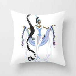 Yemaya Divina Throw Pillow