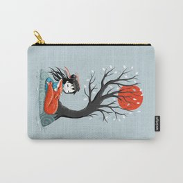 Girl and a Fox 2 Carry-All Pouch