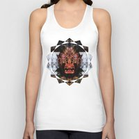 animal crew Tank Tops featuring Animal by Zandonai