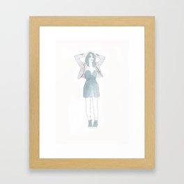 Typical Girl Katarina Framed Art Print