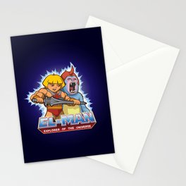 EL-MAN Explorer of the Universe Stationery Cards