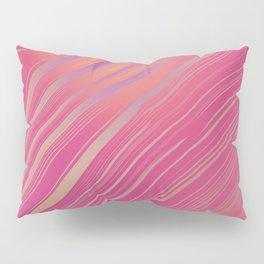 BLUSH - bubblegum pink & hints of peach lilac Pillow Sham