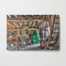 New Hall Water Mill Metal Print