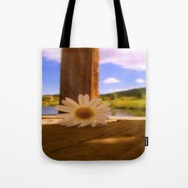 Oops A' Daisy Tote Bag