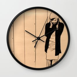 Cold Ears Wall Clock