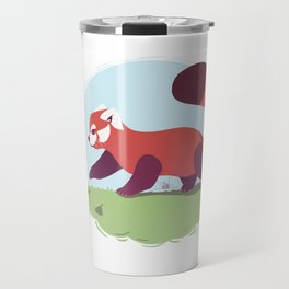 Red Panda cub Travel Mug