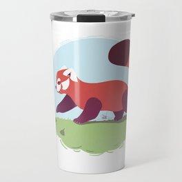 Red Panda cub Travel Mug