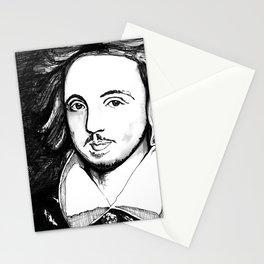 Christopher Marlowe Portrait Stationery Cards