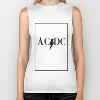 acdc Biker Tanks featuring Classy Rockers by blairartisan