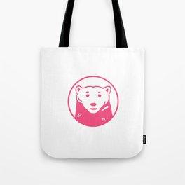 pink bear Tote Bag