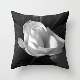 composure -- rose in light Throw Pillow
