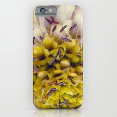 Flower Purple Yellow iPhone 6s Slim Case