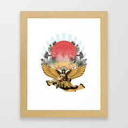 Miss Cleo Framed Art Print
