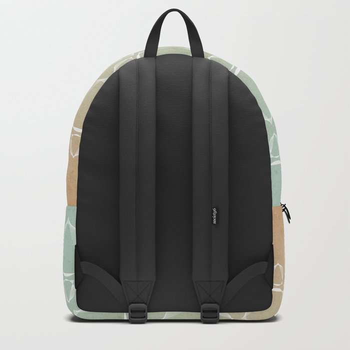 """""""North and South"""" pattern version Backpack"""