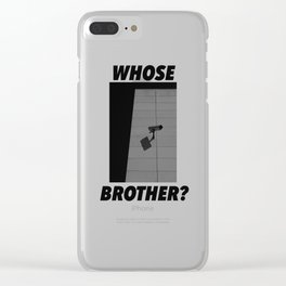 Big Brother 2 Clear iPhone Case