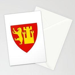 Flag of frederikstad Stationery Cards