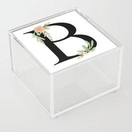 Botanical B Acrylic Box