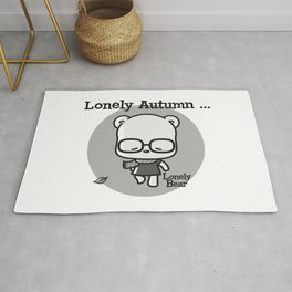 Lonely Autumn Rug