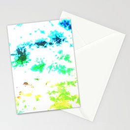 Bright Splatter Tie-Dye Stationery Cards