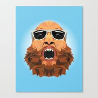action bronson Canvas Prints featuring Action Bronson by Alex89er
