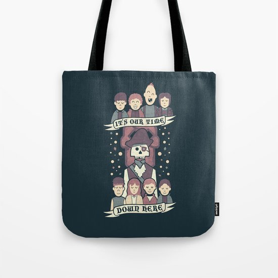 Down Here Tote Bag
