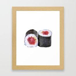 Hosomaki tune Framed Art Print