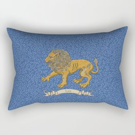 Vintage Astrology - Leo Rectangular Pillow