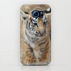 Tiger cub emerging Slim Case Galaxy S7